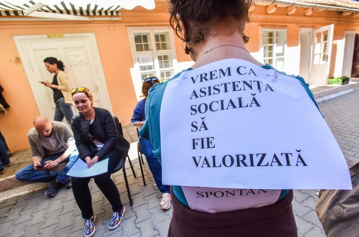 greva directia sociala protectia copilului DGASPC (3)