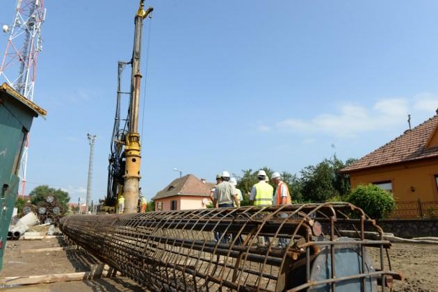 muncitori santier viaduct
