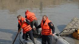 ISU barca inecat pompieri