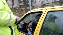 politist taxi