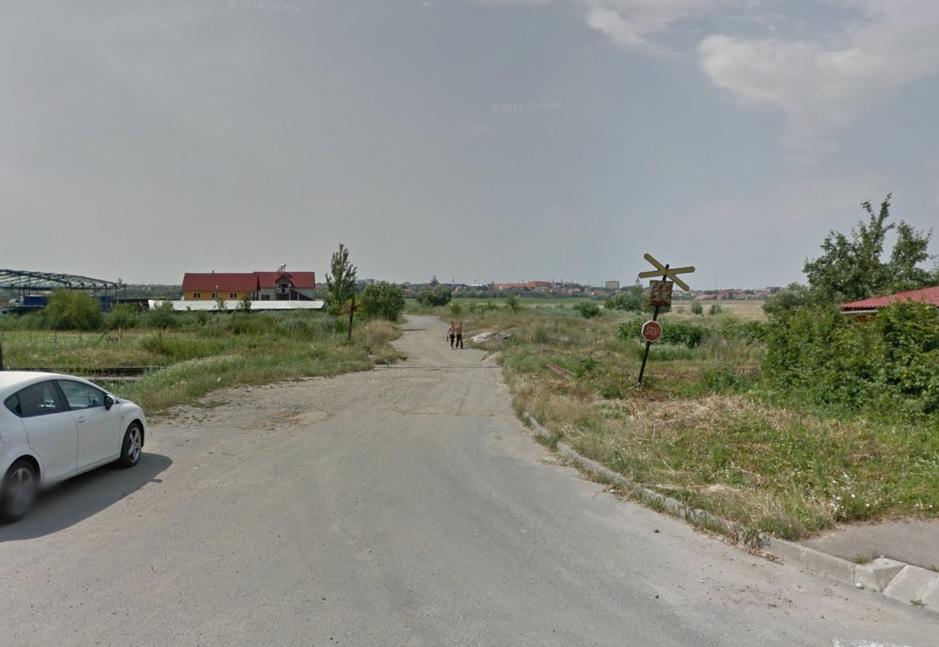 strada dimitrie cantemir spre turnisor foto google street view