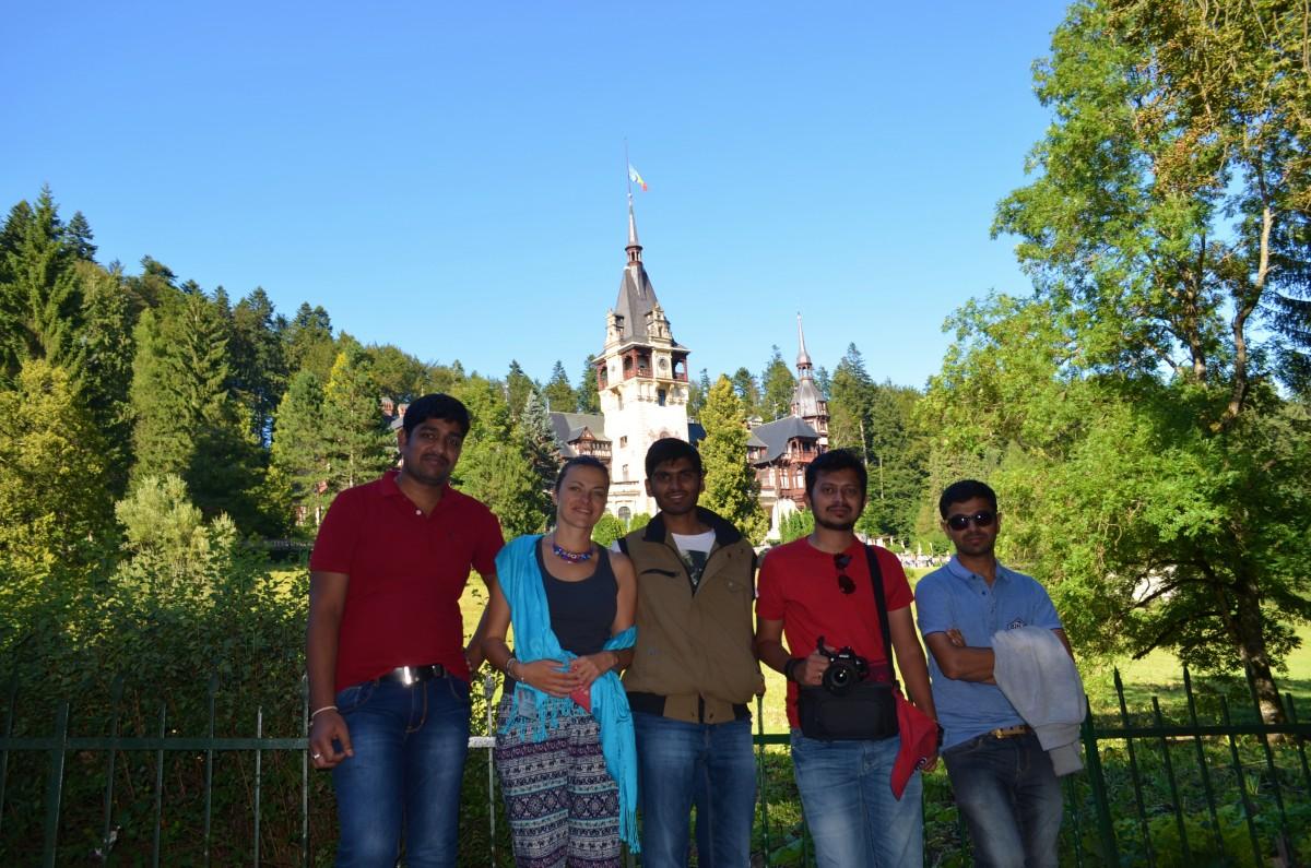 Castelul Peles - grup India