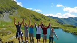 Lacul Capra - grup Romania
