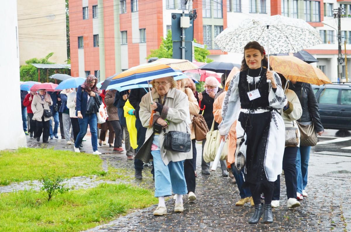 Sibiu tour in the rain