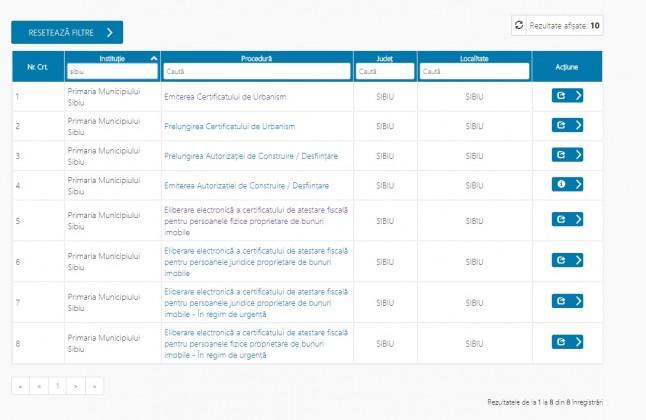certificat fiscal online primaria sibiu