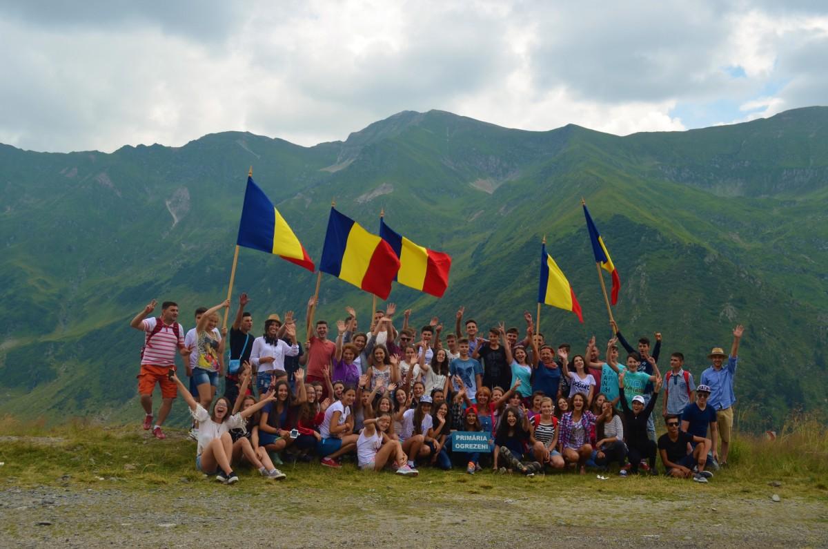 grup din Romania - Transfagarasan