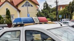 masina politie girofar