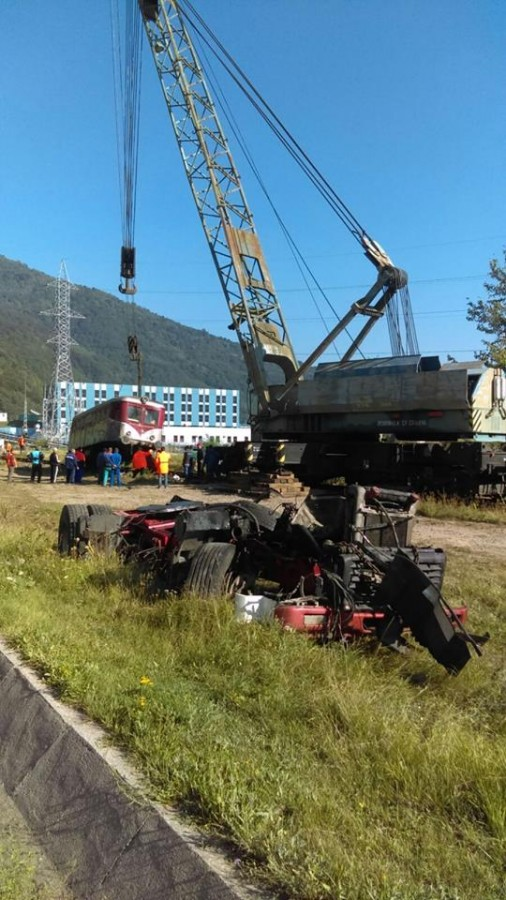 macara tren accident