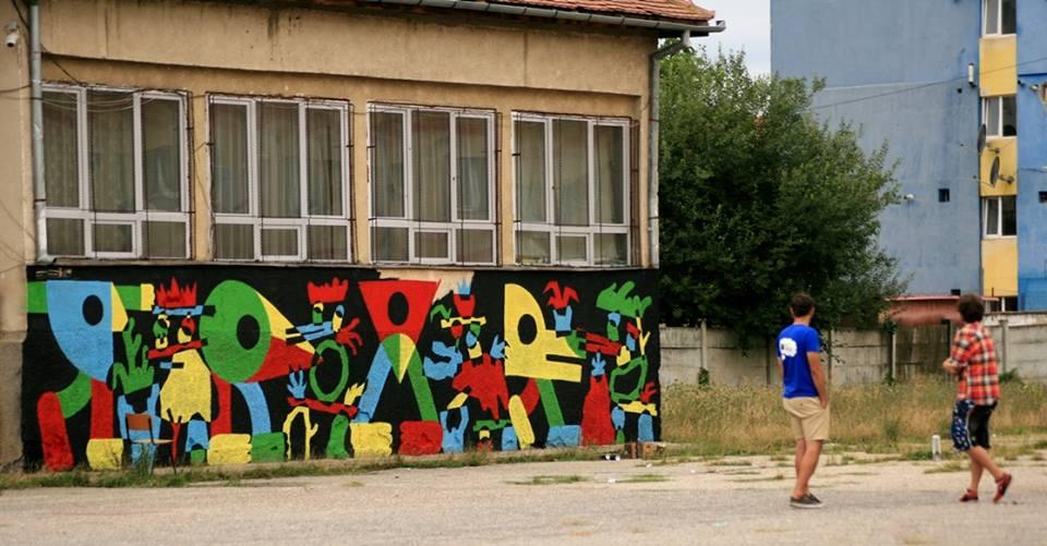 """Lucrare realizată de Kitra și Pren la Școala """"Radu Selejan"""""""