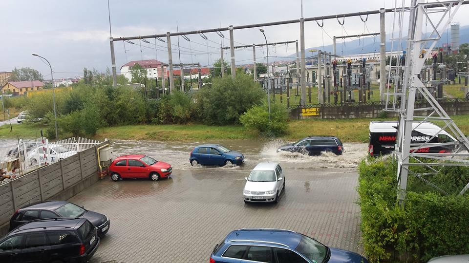 Strada Turda. Sursa: Octavian Soare/Info Trafic Sibiu