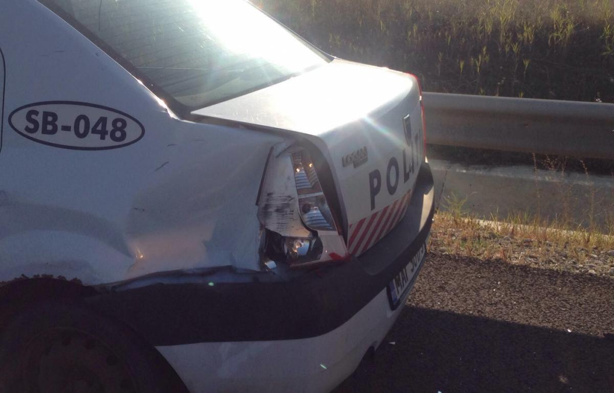 accident politist autostrada (3)