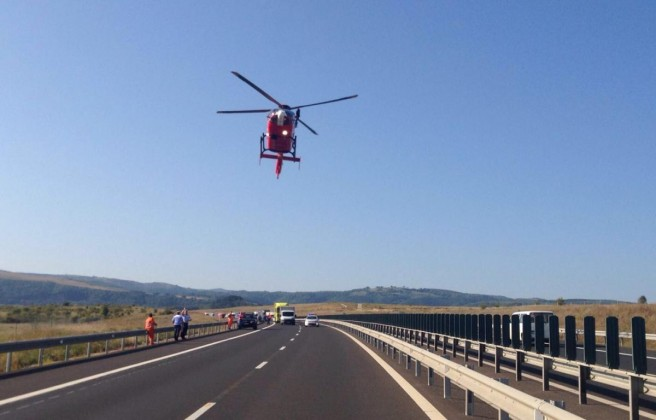 accident politist autostrada (4)