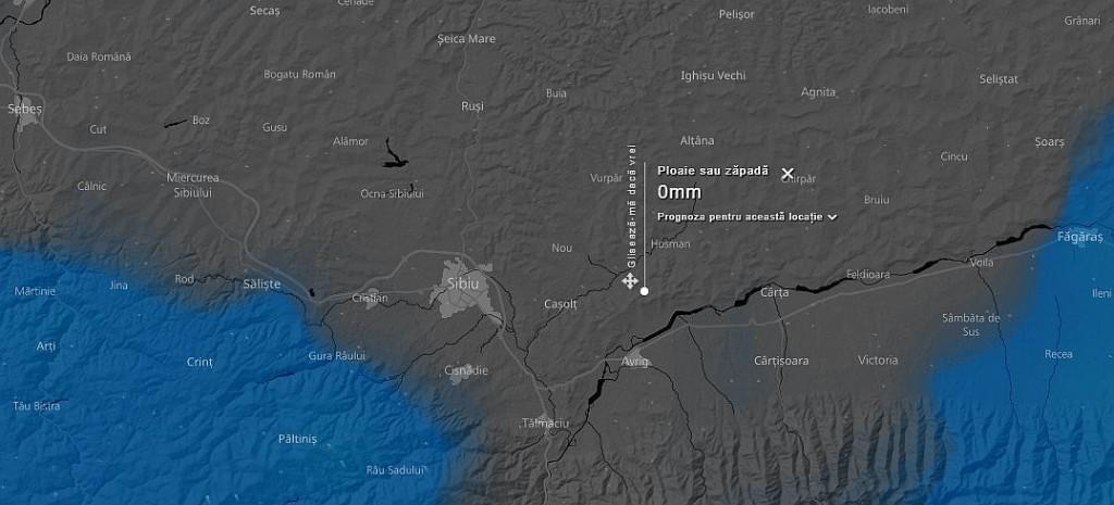 Sibiul Sub Cod Galben De Furtuna Harta Interactiva Cu Imagini Din