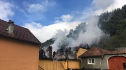 incendiu pompieri ISU 2
