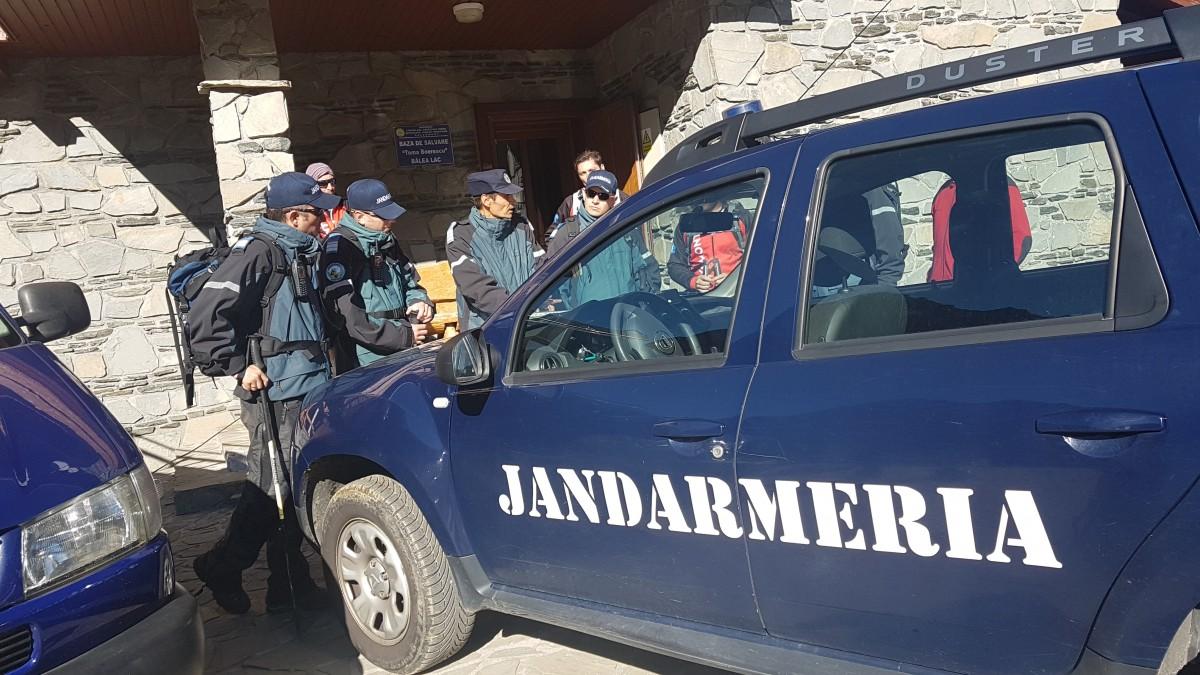exercitiu jandarmerie montana balea salvare turist fagaras (1)