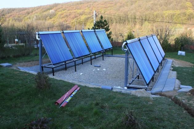 panouri solare foto panosol