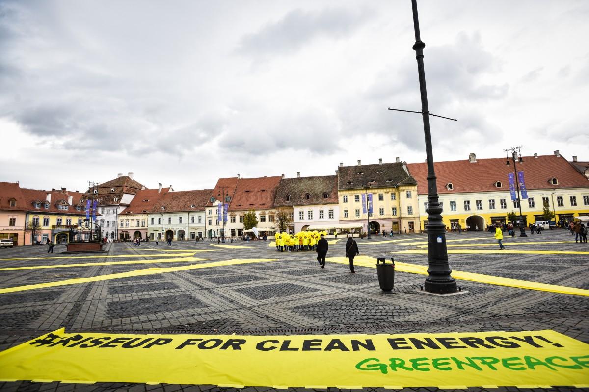 sibiu piata mare greenpeace (1)