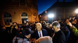 arcas protest Dragnea PSD