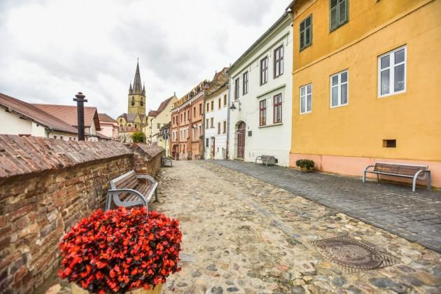 Sibiu strada centumvirilor fara masini mobilitate (15)