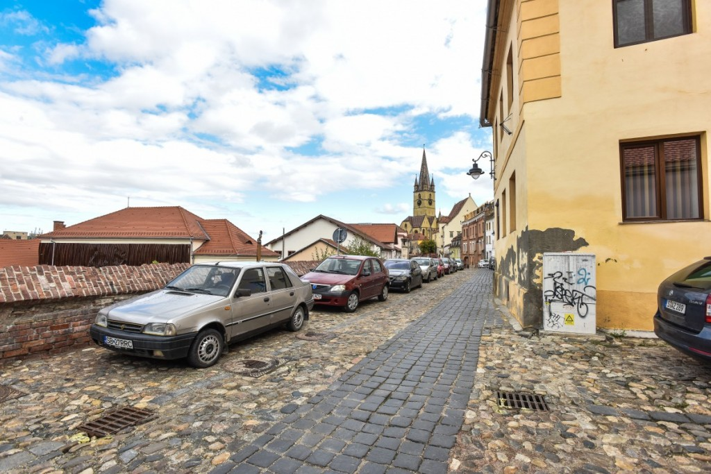 Sibiu strada centumvirilor fara masini mobilitate (7)