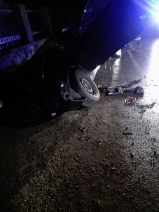 accident poplaca gura raului