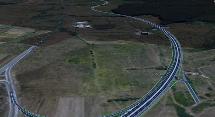 continuare autostrada dupa noduld de la selimbar