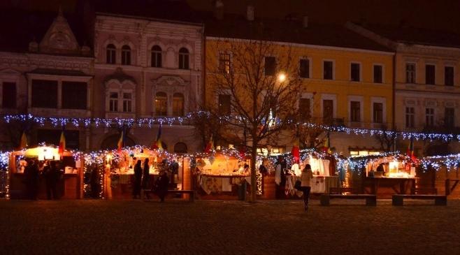 Târgul de Crăciun din Cluj, anul trecut