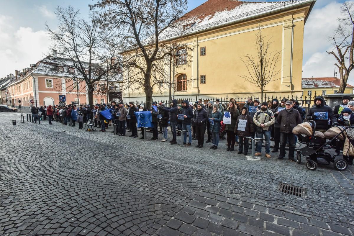 flashmob va vedem PSD protest (1)
