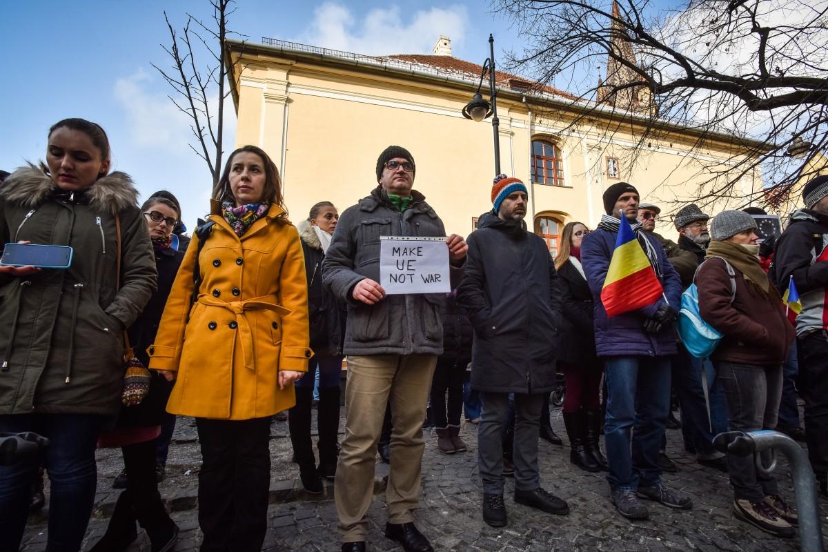 flashmob va vedem PSD protest (10)