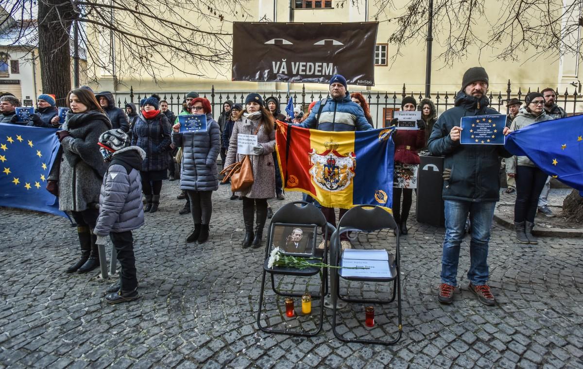 flashmob va vedem PSD protest (3)