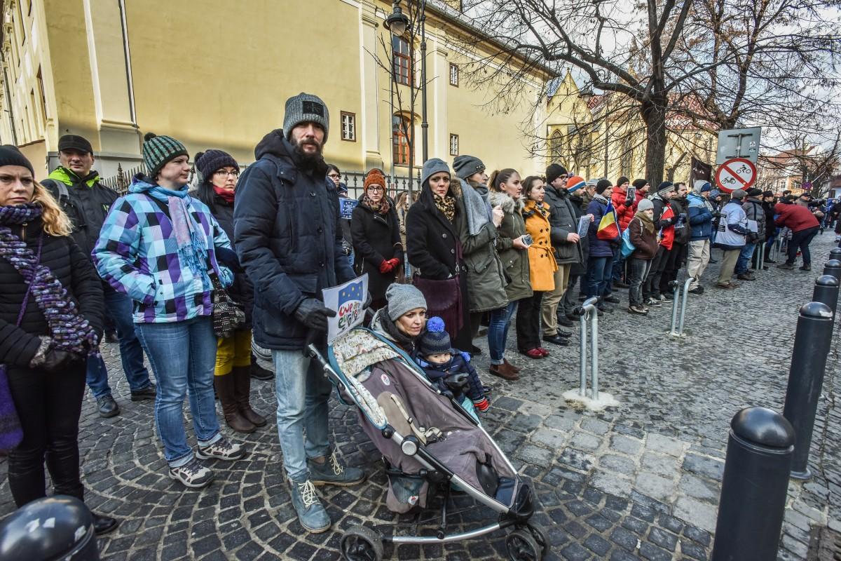 flashmob va vedem PSD protest (4)