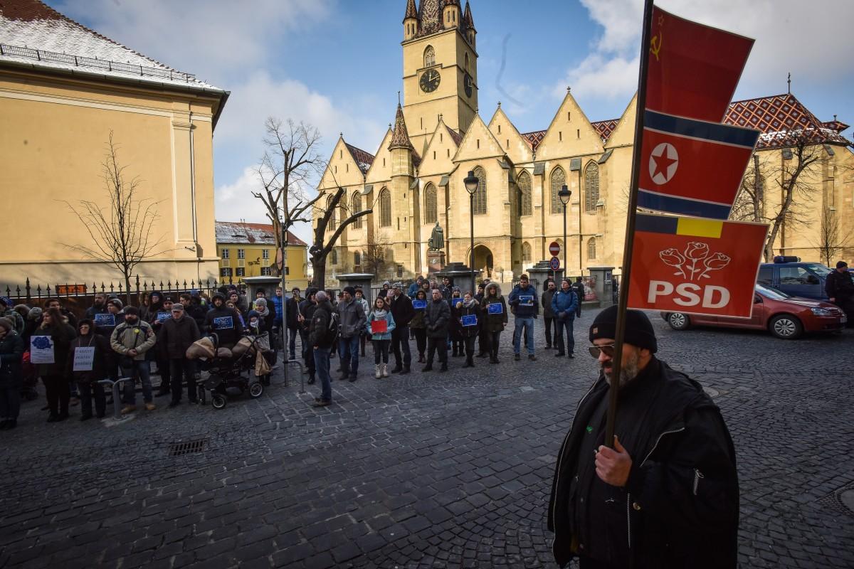 flashmob va vedem PSD protest (7)