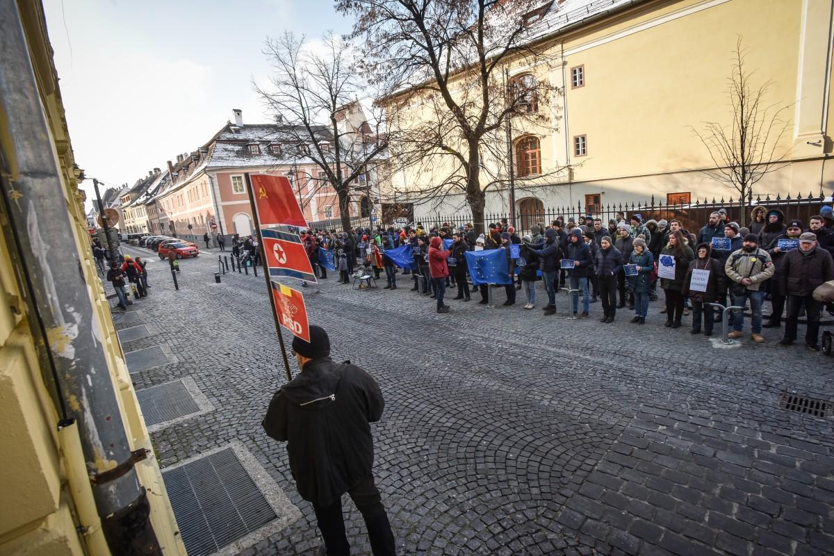 flashmob va vedem PSD protest (8)