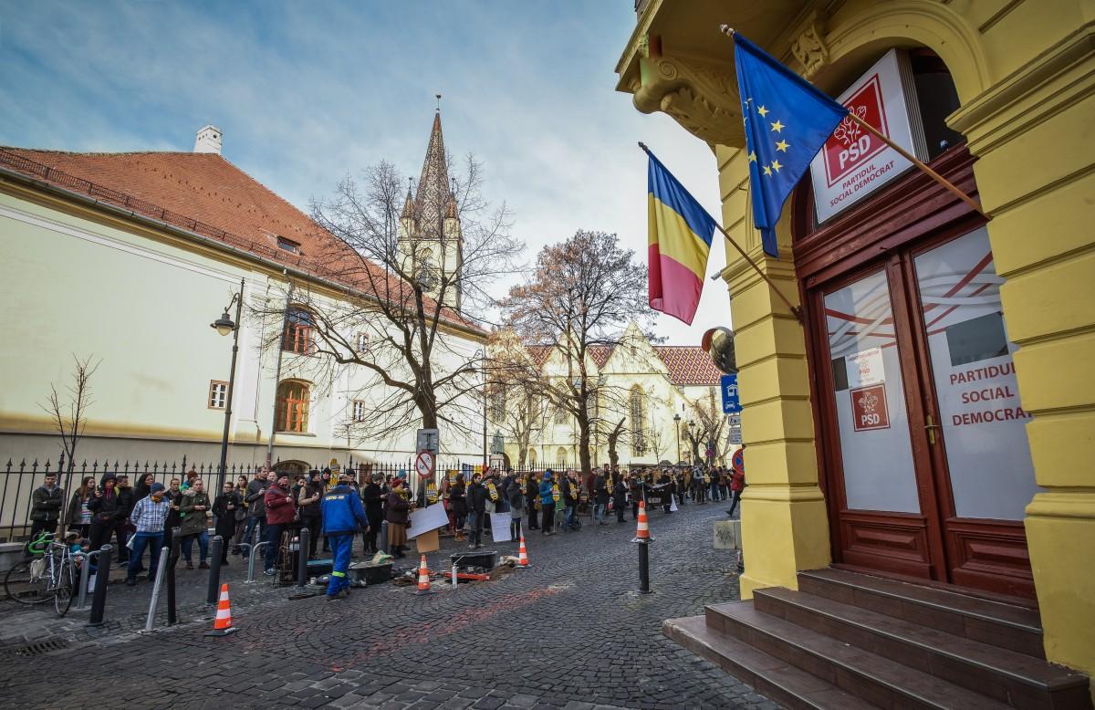 flasmob va vedem protest PSD (10)