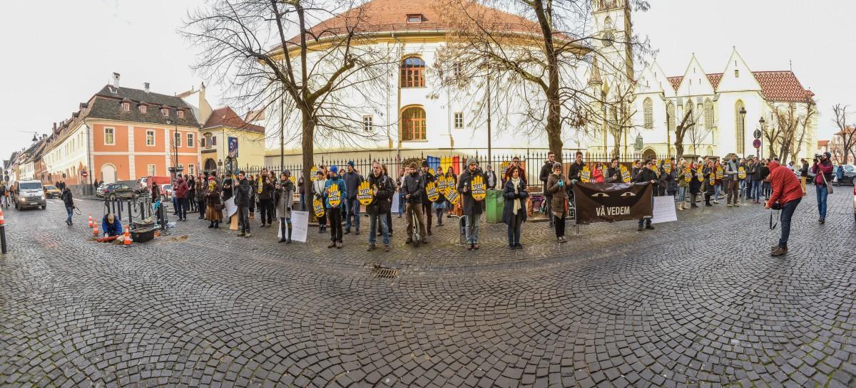 flasmob va vedem protest PSD (13)