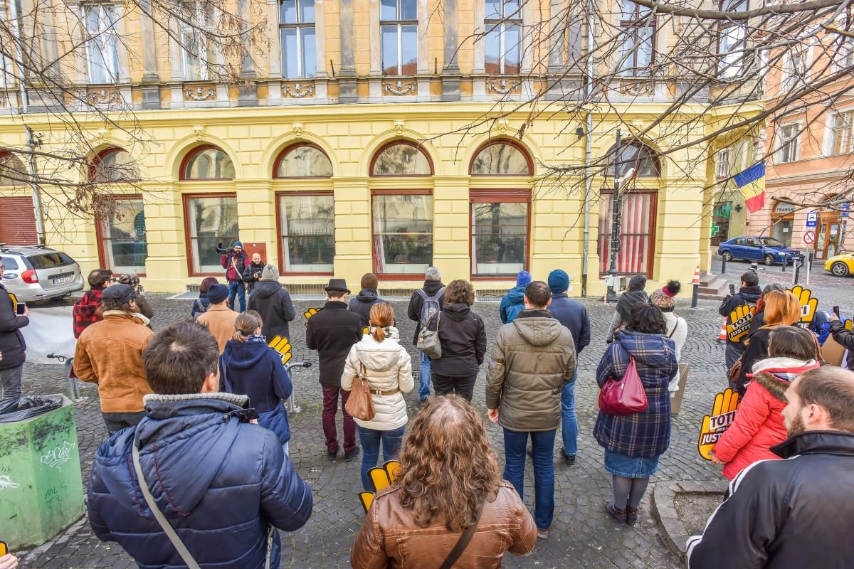 flasmob va vedem protest PSD (16)
