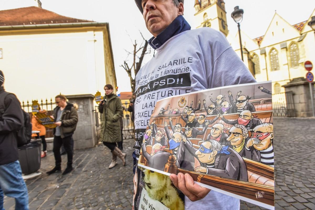 flasmob va vedem protest PSD (18)