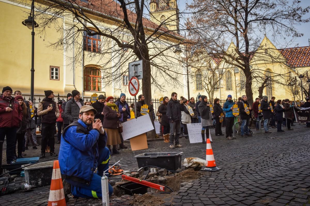 flasmob va vedem protest PSD (2)