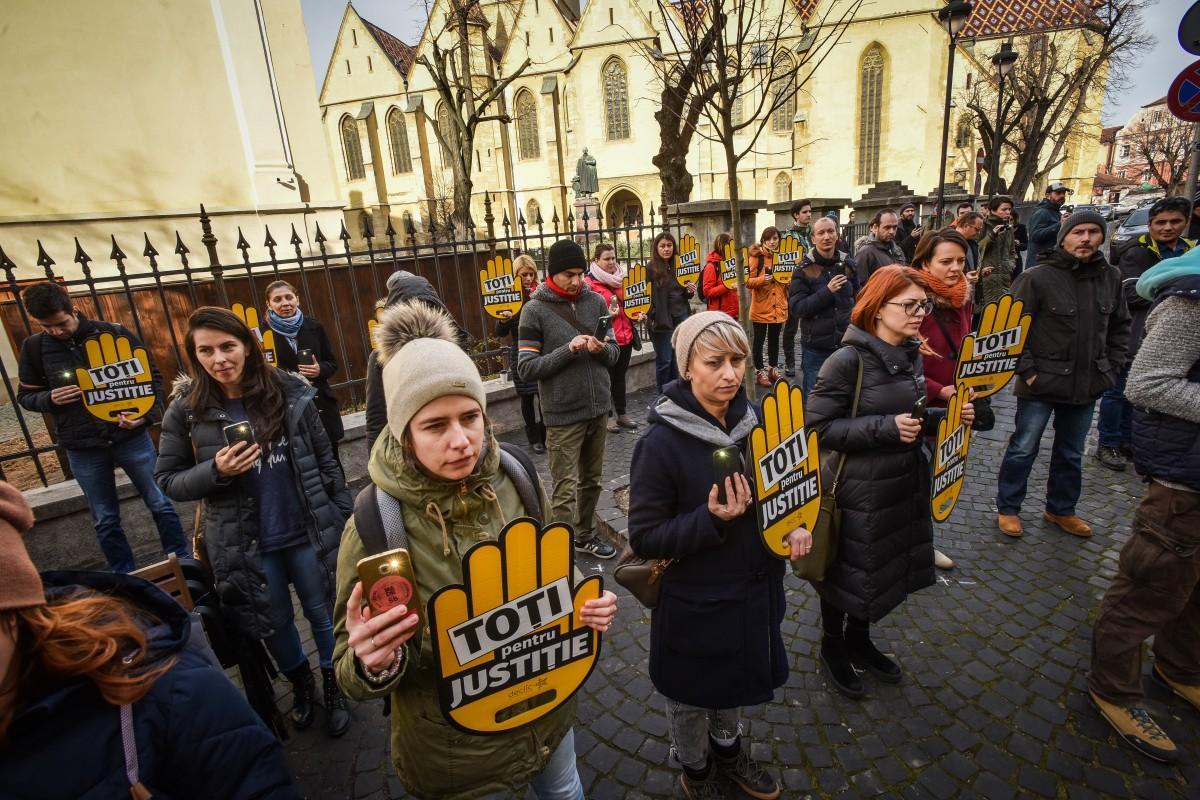 flasmob va vedem protest PSD (5)