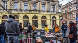 sit in protest sediu PSD (8)