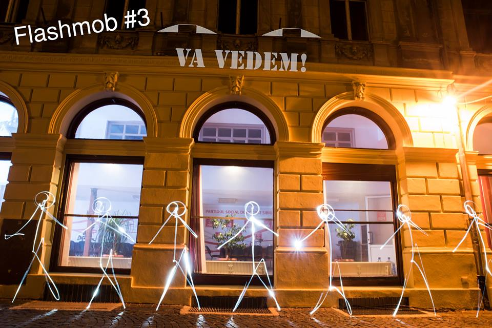 Sursa foto: Facebook / Vă vedem din Sibiu, Radu Tompa