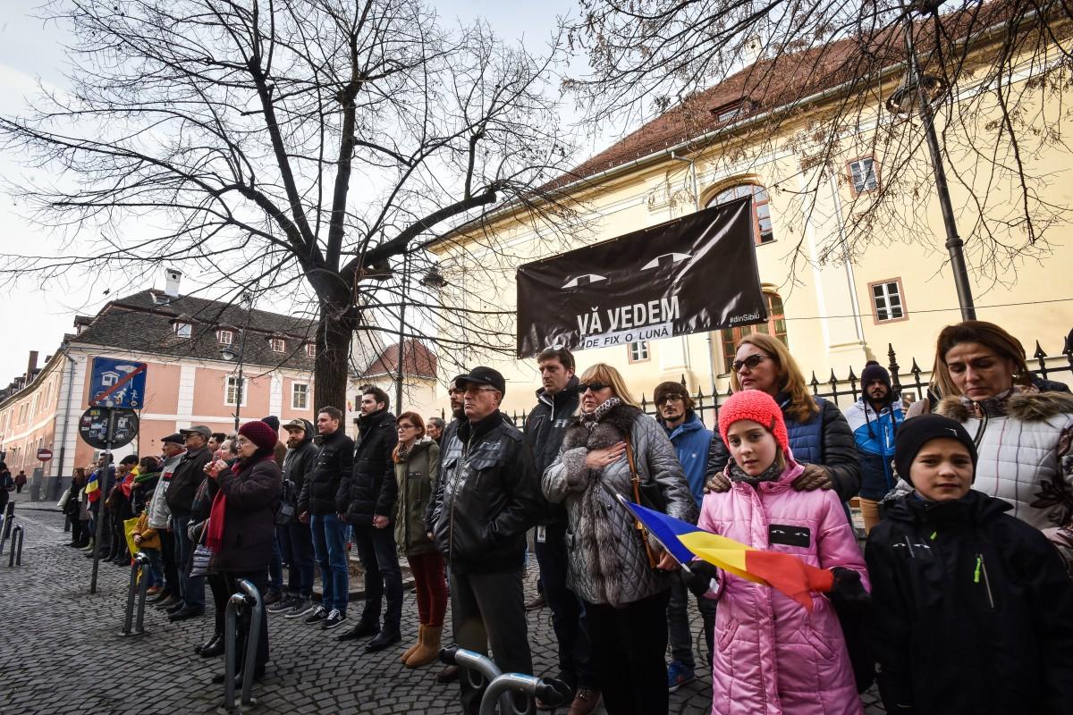 flashmob protest PSD va vedem (1)
