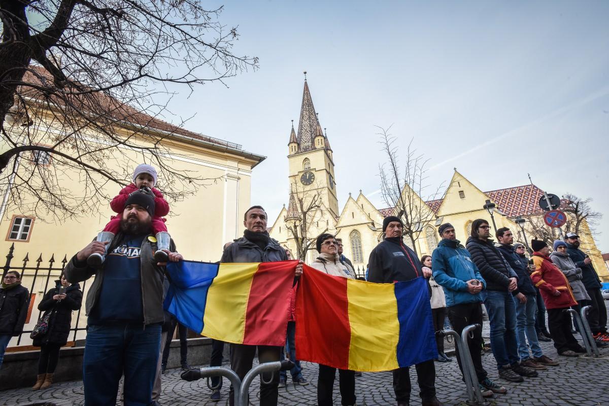 flashmob protest PSD va vedem (2)