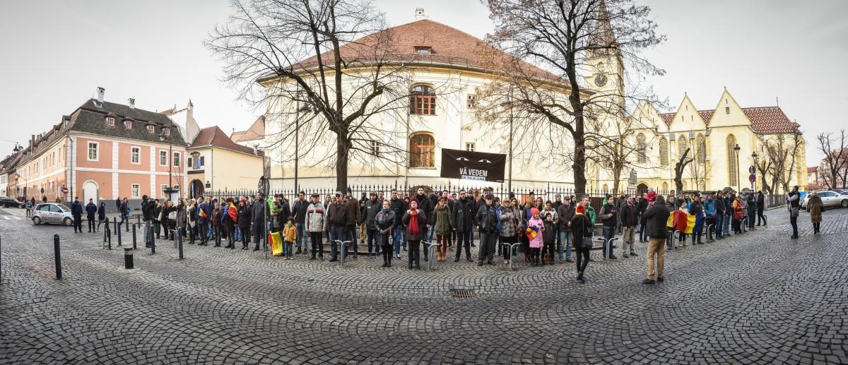 flashmob protest PSD va vedem (5)