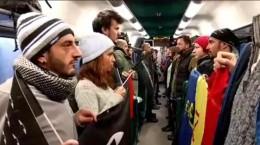 flashmob tren