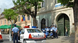 masina politie politist
