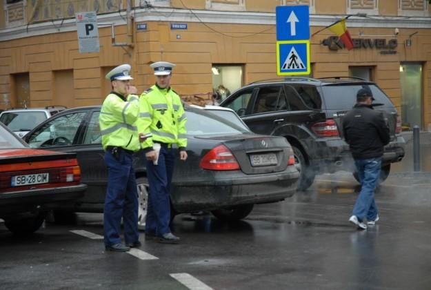 politist amenzi parcare