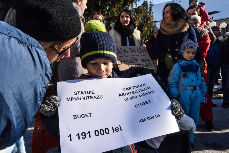 protest Cisnadie cartierul arhitectilor (10)