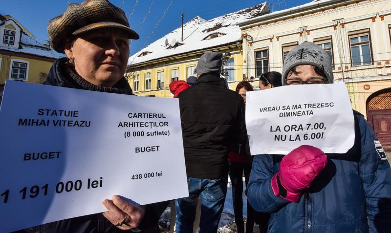 protest Cisnadie cartierul arhitectilor (11)