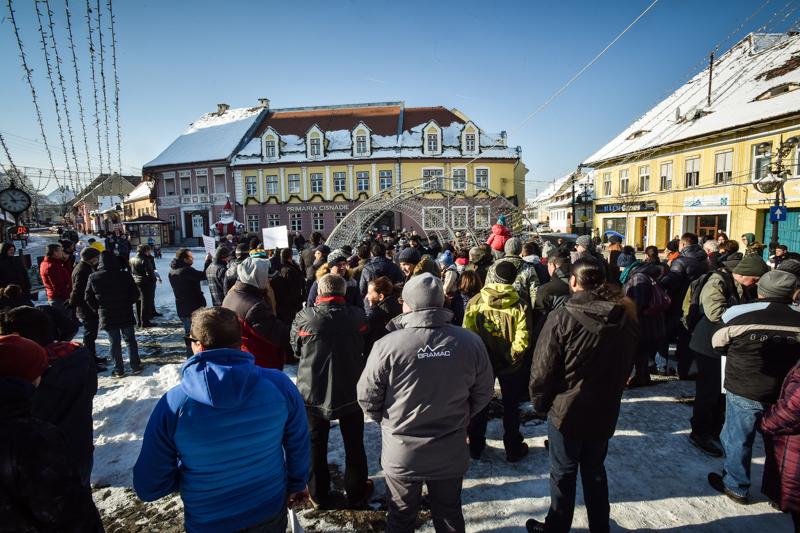 protest Cisnadie cartierul arhitectilor (14)